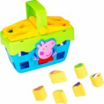 Peppa Pig Peppa's Shape Sorter Picnic Playset With Sounds Learning Toy