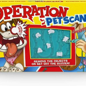 Hasbro Gaming Operation Pet Scan Pets Version Classic Buzz Board Game