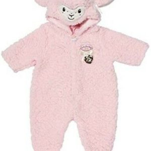 Baby Annabell Deluxe Pink Sheep All In One Outfit For 43cm Dolls Zapf Creation