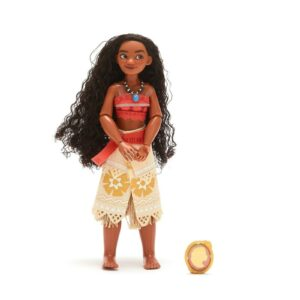 Disney Moana Classic Doll with Clip On Pendant 28cm Tall Toy Doll