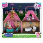 Peppa Pig Peppa Fest Glamping Tent Playset With Lights & 2 Action Figures Set