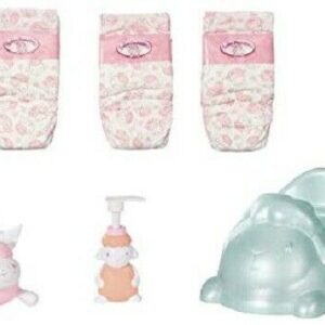 Baby Annabell Baby Care Potty & Nappies 6 Piece Set For 36-43cm Dolls Zapf